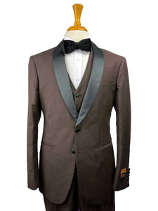 NLO-Tux-SH	Brown-Blk -  Tuxedo Wholesale  Distributors