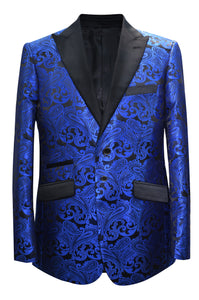 Paisley-400 Royal Blue