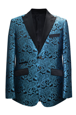 Paisley-400 Teal