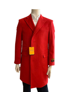 Peaky-03 Red - Wholesale Coat - Wholesale Winter Coats