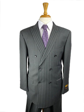 Char Stripe - Mens Wholesale Suit - AlbertoNardoniStore