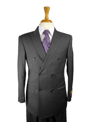 Blk Pins - Mens Wholesale Suit - AlbertoNardoniStore
