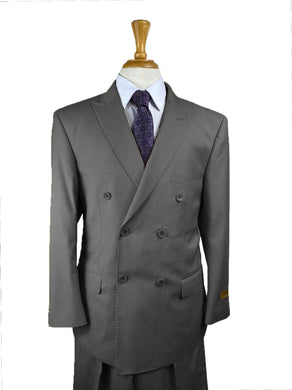 Charcoal - Mens Wholesale Suit - AlbertoNardoniStore