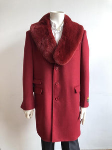 Car-Coat-Red - Wholesale Coat - Wholesale Winter Coats