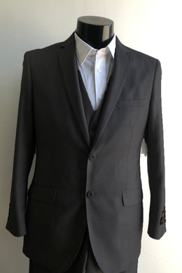 Skinny - Liquid Black - Wholesale Mens Suits - Wholesale Suits