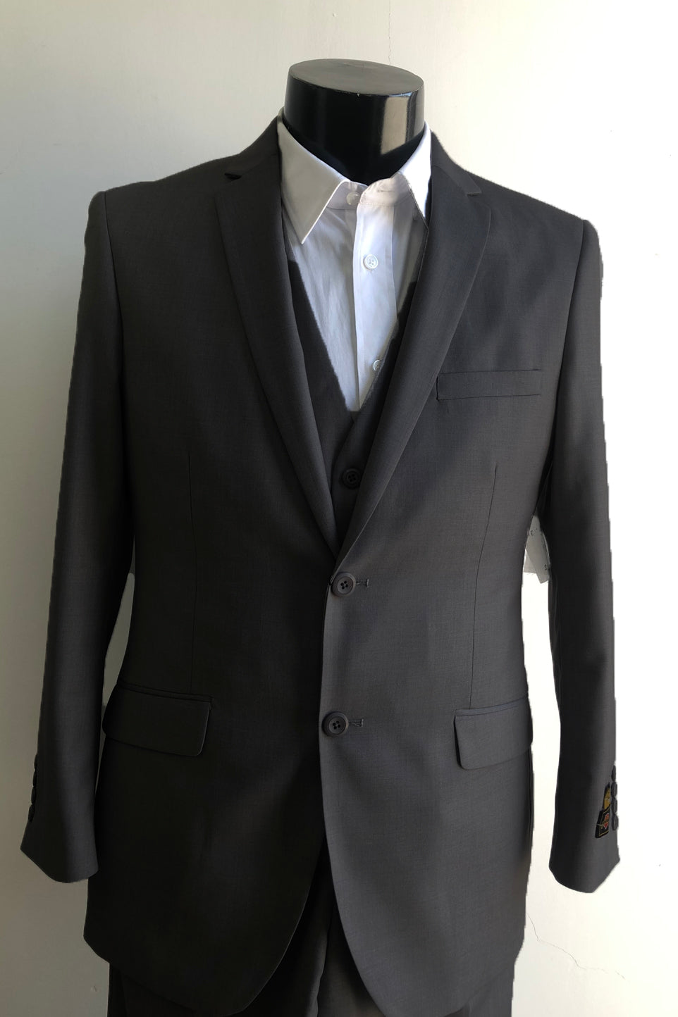 Slim Fit Prom Suits Skinny - Black