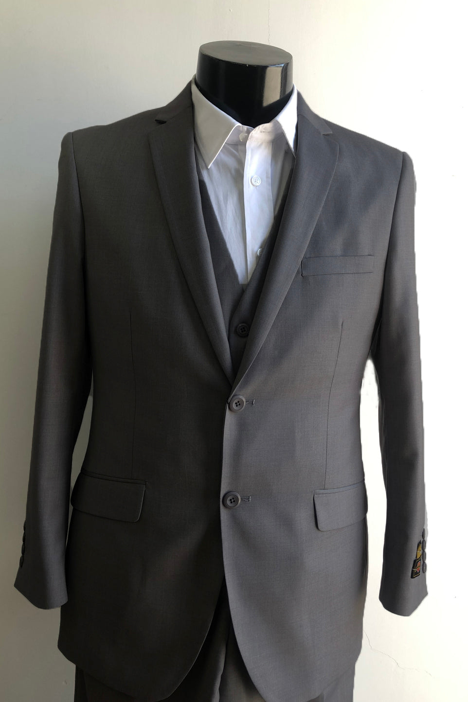 Slim Fit Prom Suits - Skinny-Charcoal