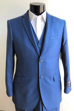 Wedding Guest Suit - Blue