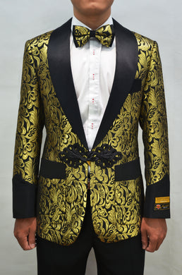 Smoking-2 Gold - Mens Wholesale Blazers