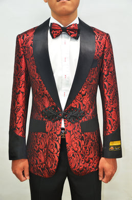 Smoking-2 Red - Mens Wholesale Blazers