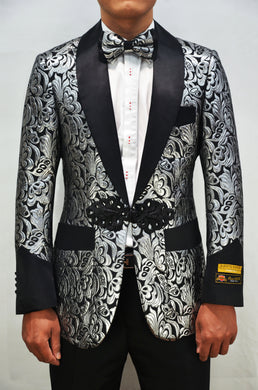 Smoking-2 Silver - Mens Wholesale Blazers
