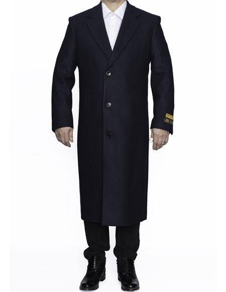 Coat-03 Navy - Wholesale Coat - Wholesale Winter Coats