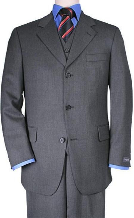 Suits For Big Guys - Suits For Big men Charcoal