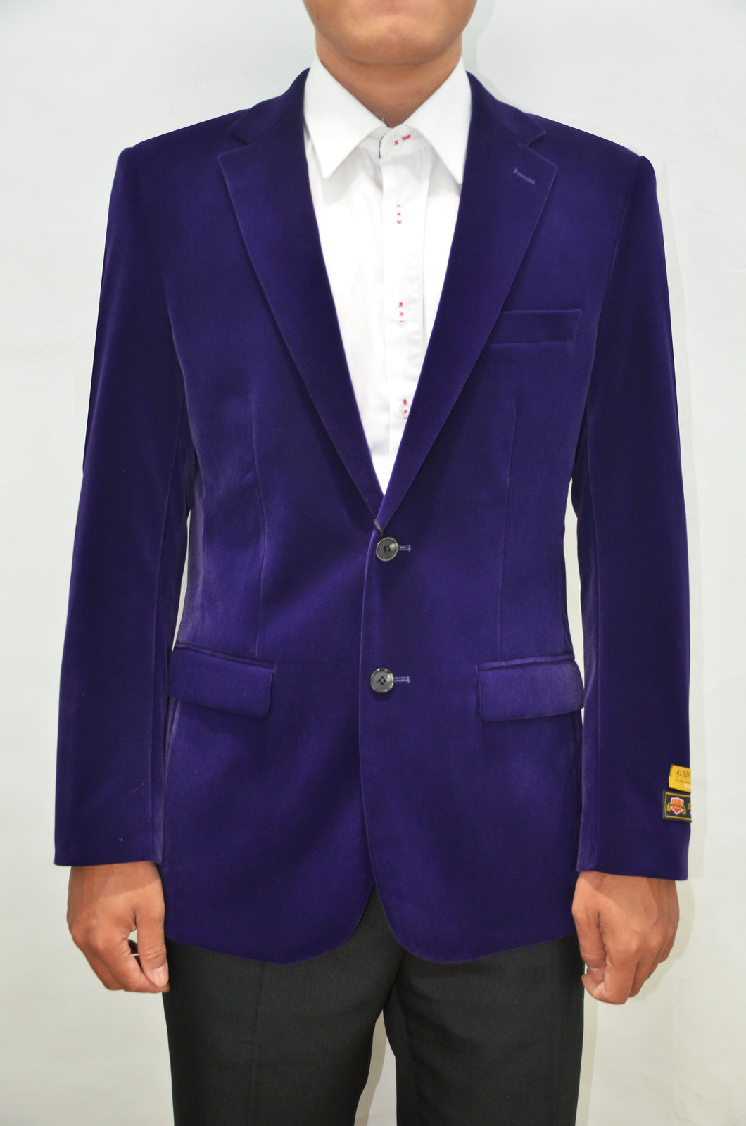 Purple Velvet Suit