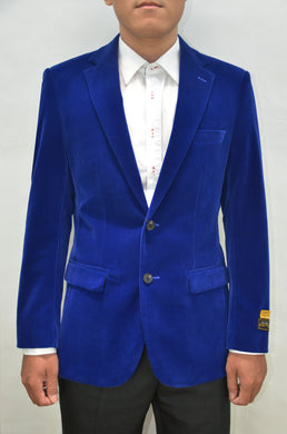 Velvet-2BV Royal Blue