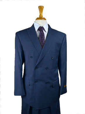 Navy - Mens Wholesale Suit