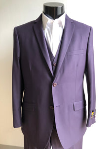 Slim Fit Prom Suits - Skinny - Plum