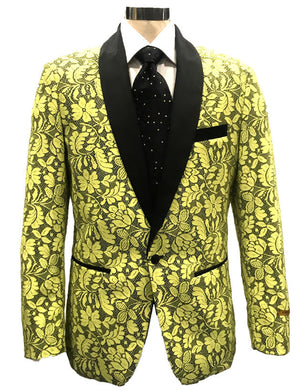 N-116 Yellow - Mens Wholesale Blazers