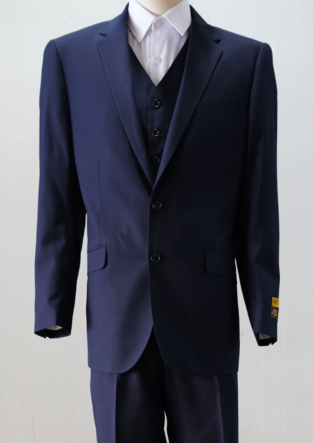 Slim Fit Prom Suits - Tailored Navy