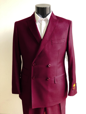 DB-Slim Burgundy - Wholesale Mens Suits - Wholesale Suits