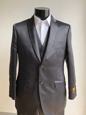 Wedding Guest Suit - Black Lapel
