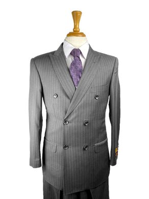 Charcoal/PS - Mens Wholesale Suit - AlbertoNardoniStore