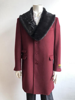Car-Coat-Burgundy