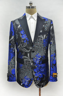 Fashion-10#  Royal Blue - Mens Wholesale Blazers - AlbertoNardoniStore