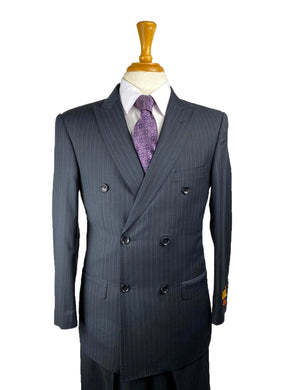 Navy Pins - Mens Wholesale Suit