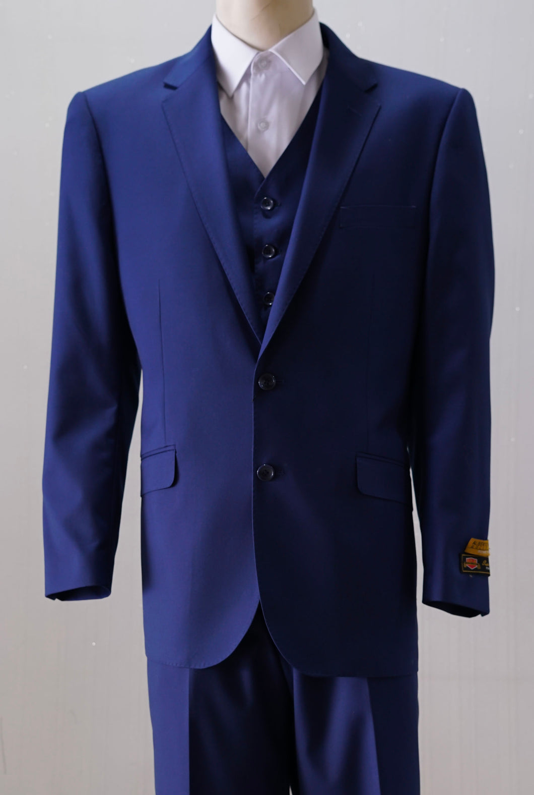 Slim Fit Prom Suits - Tailored Sapphire