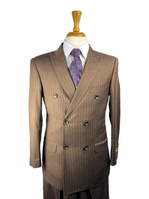 Brown.Pins - Mens Wholesale Suit - AlbertoNardoniStore