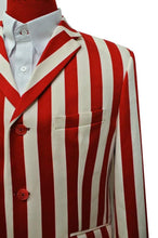 Load image into Gallery viewer, Boating jacket | 60'S Red Stripe Boating Blazer