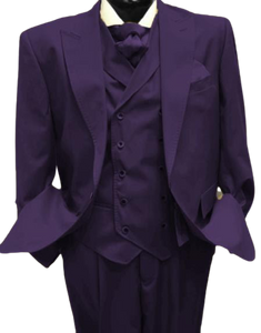 Mens Suits Detroit Michigan - Gadson-54-Plum
