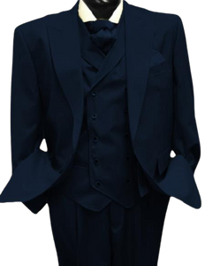Mens Suits Detroit Michigan - Gadson-54-Navy
