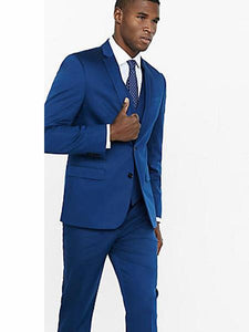 Mens Cobalt Blue Suit