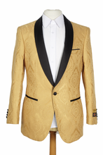 Load image into Gallery viewer, Mens Gold Blazer - Mens Gold Dinner Jacket