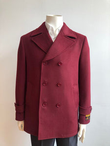 Peacoat-Burgundy - Wholesale Coat - Wholesale Winter Coats