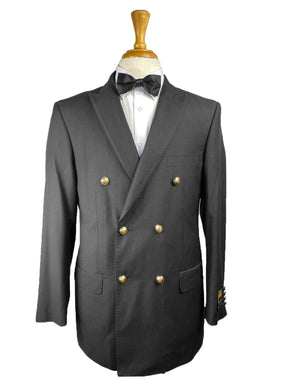 DB-1 Black - Mens Wholesale Suit - AlbertoNardoniStore