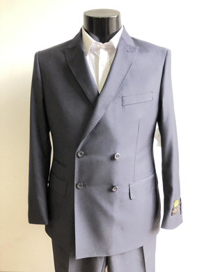 DB-Slim Light Gray - Wholesale Mens Suits - Wholesale Suits