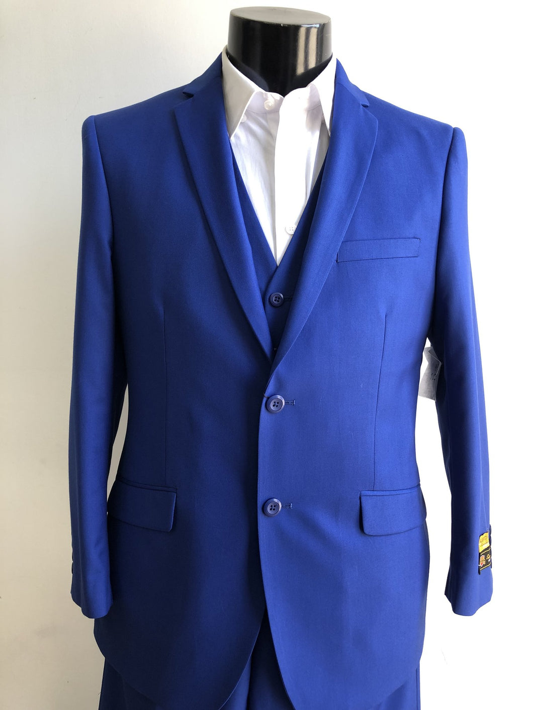 Mens Cobalt Suits Downtown Los angeles - Suits LA $149