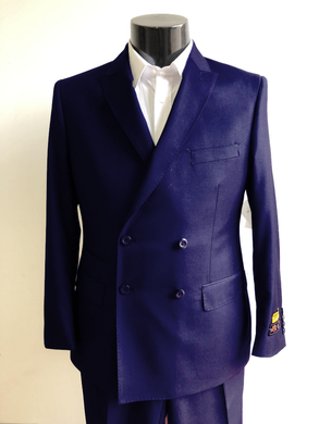 DB-Slim Navy - Wholesale Mens Suits - Wholesale Suits