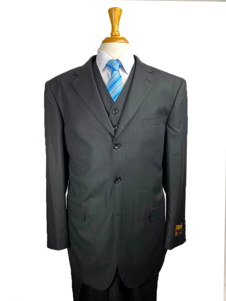 Suits For Big Guys - Suits For Big men Black-SS