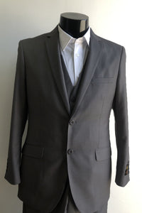 Mens Skinny Charcoal Suits Downtown Los angeles - Suits LA $149
