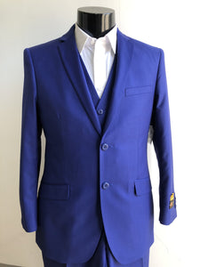 Mens Skinny Sapphire Suits Downtown Los angeles - Suits LA $149