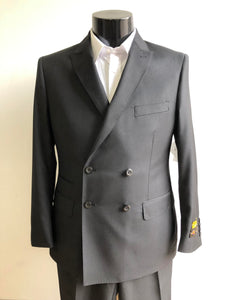Slim Fit Prom Suits -  DB-Slim Solid Black