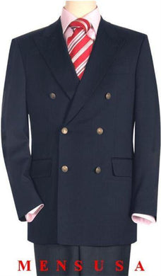DB-Blazer Navy - Mens Wholesale Suit - AlbertoNardoniStore