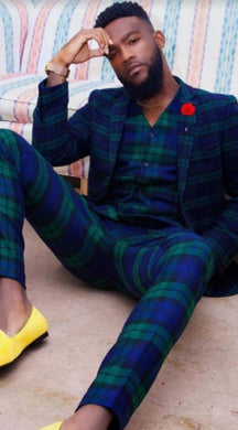 Plaid Suit - Wholesale Mens Suits - Wholesale Suits