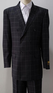 DB-1 Black Plaid - AlbertoNardoniStore