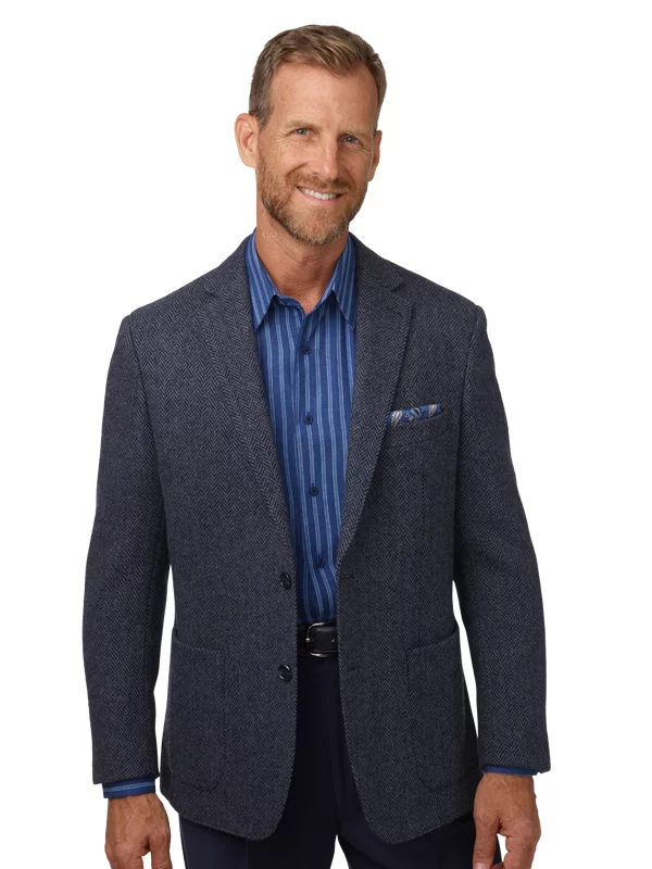 Tweed Sportscoats - Tweed Blazer | Blue