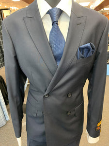 Slim Fit Prom Suits DB-Slim Solid Navy